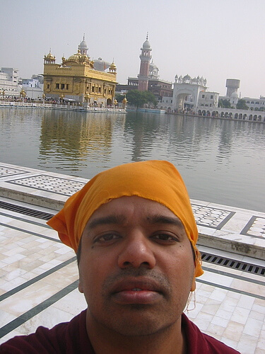 me at golden temple